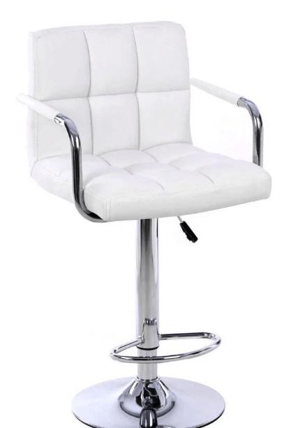 Барный стул (белый)