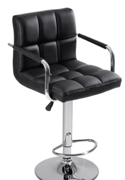 Барный стул (чёрный)